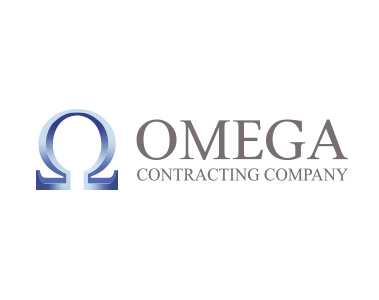 omega contracting logo